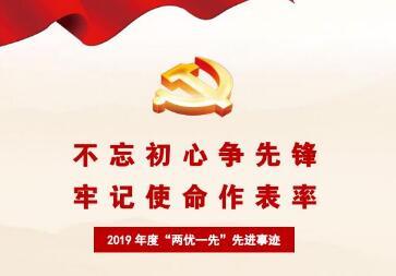 """七一表彰丨2019年度""""两优一先""""先进事迹集锦"""